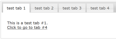 JQuery Tabs